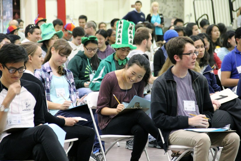 Academic Decathlon is all about teamwork, building 21st-century skills — and having fun