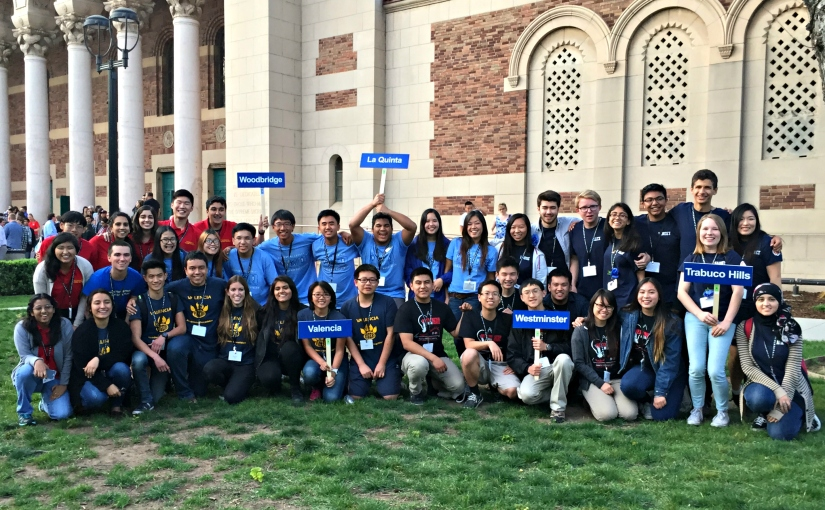 OC high schools, students shine at the 36th annual California AcademicDecathlon