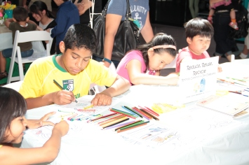 Students participate in VSA festival activities