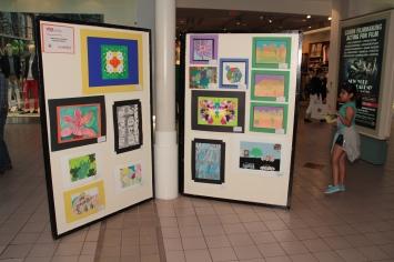 VSA Festival art display