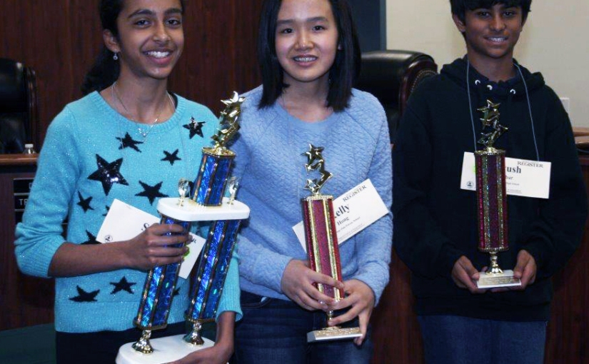 OC's champion speller headed to Washington D.C. to compete in the Scripps National SpellingBee