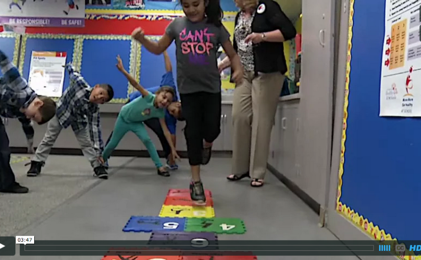 OCDE teams with Kaiser Permanente, St. Jude to bring Fit Kid Centers to schools(video)