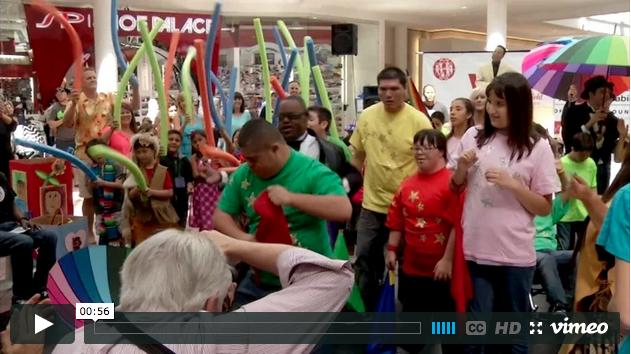 VSA Festival packs Westfield MainPlace in celebration of creativity, inclusivity(video)