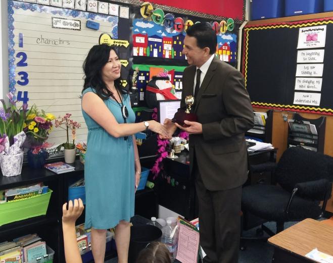 2016 Teacher of the Year Janis Leach