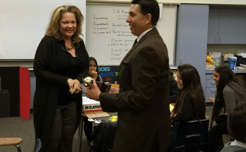2016 Orange County Teacher of the Year: Sharon Romeo