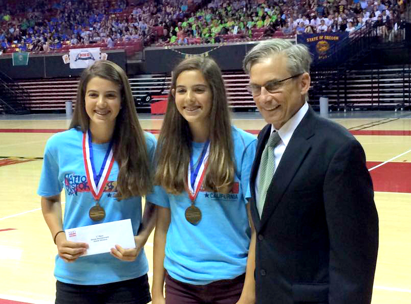 Three student projects from OC earn medals at National History Day Contest in Maryland