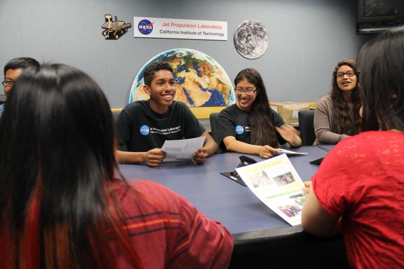 Students participating in summer JPL internship program featured onEdSource