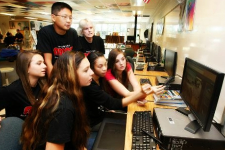 High School Inc. program leverages local businesses to promote college and careerreadiness