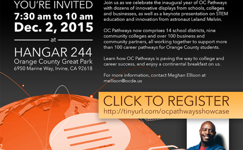 OC Pathways Showcase will highlight college and career partnerships on Dec. 2