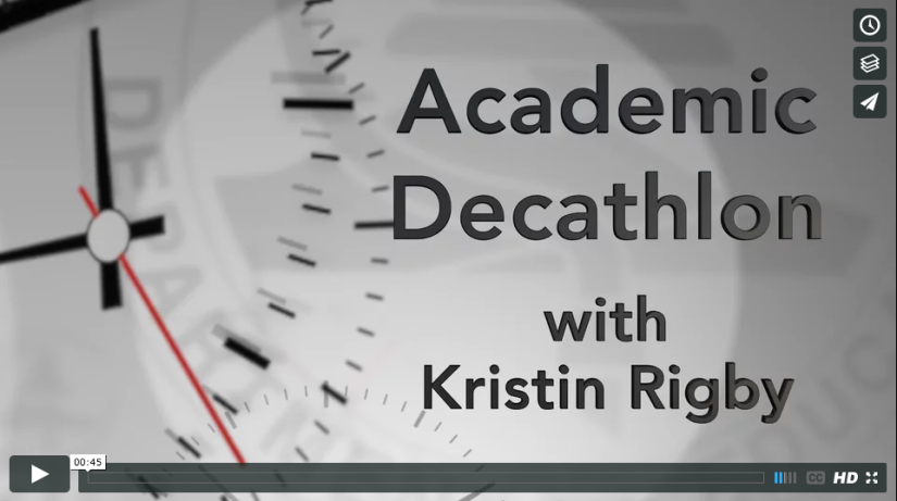 OCDE in 30 Seconds: We break down the Orange County Academic Decathlon in half a minute