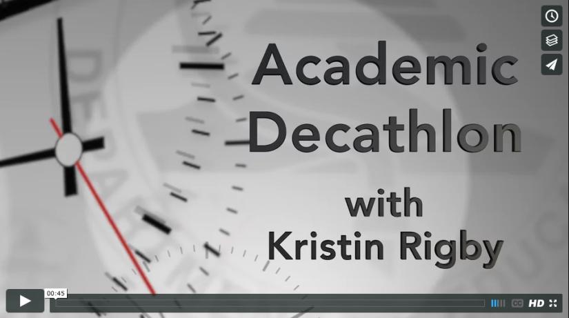 OCDE in 30 Seconds: We break down the Orange County Academic Decathlon in half aminute