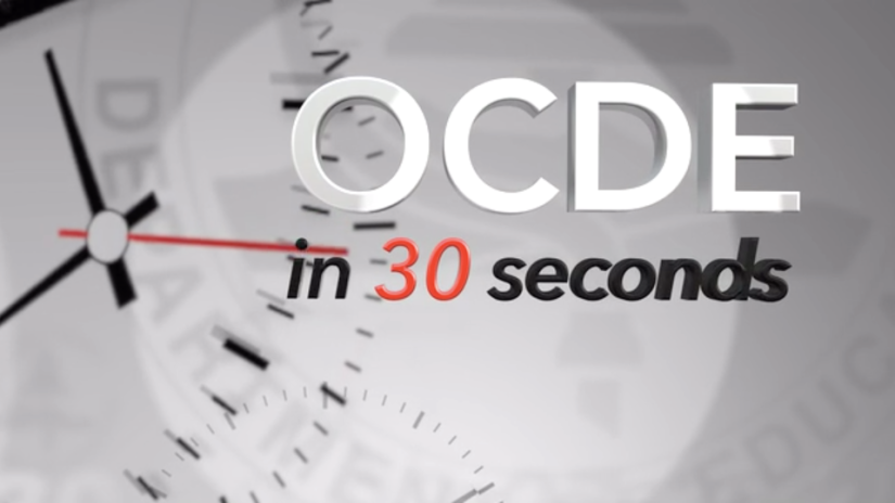 OCDE in 30 Seconds: IT division supports the technology needs of Orange County schools