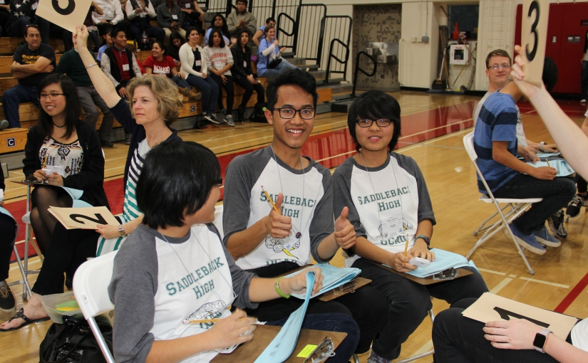 In the news: The 2016 Orange County Academic Decathlon concludes with a flourish